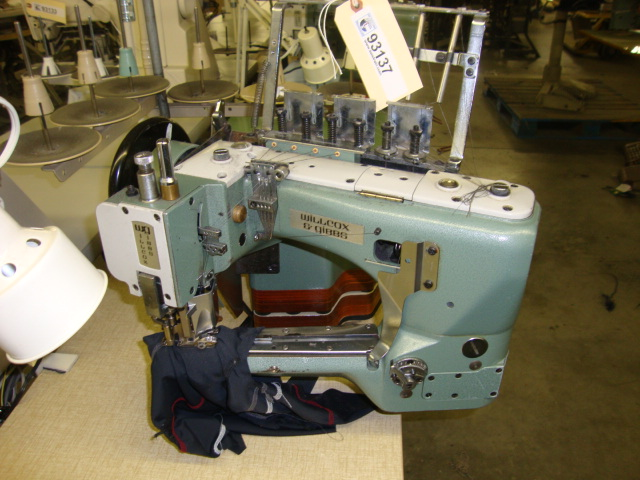 Pegasus And Willcox Gibbs Industrial Sewing Machine Liquidation Classy Pegasus Flatlock Sewing Machine