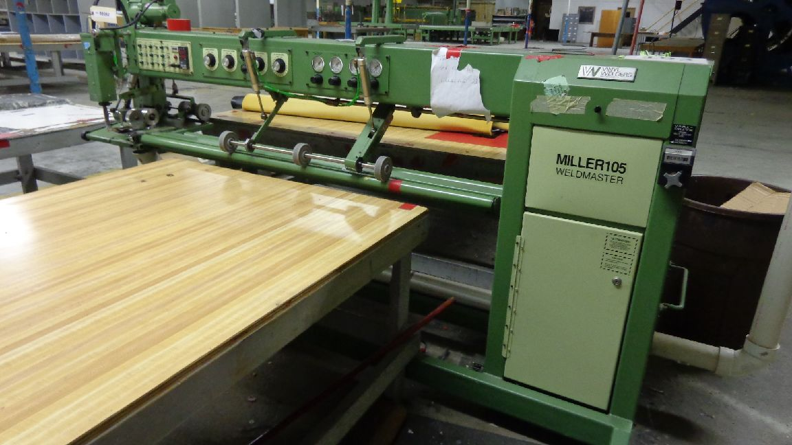 Miller 105 Sinclair Wedge Seam Sealing And Long Arm